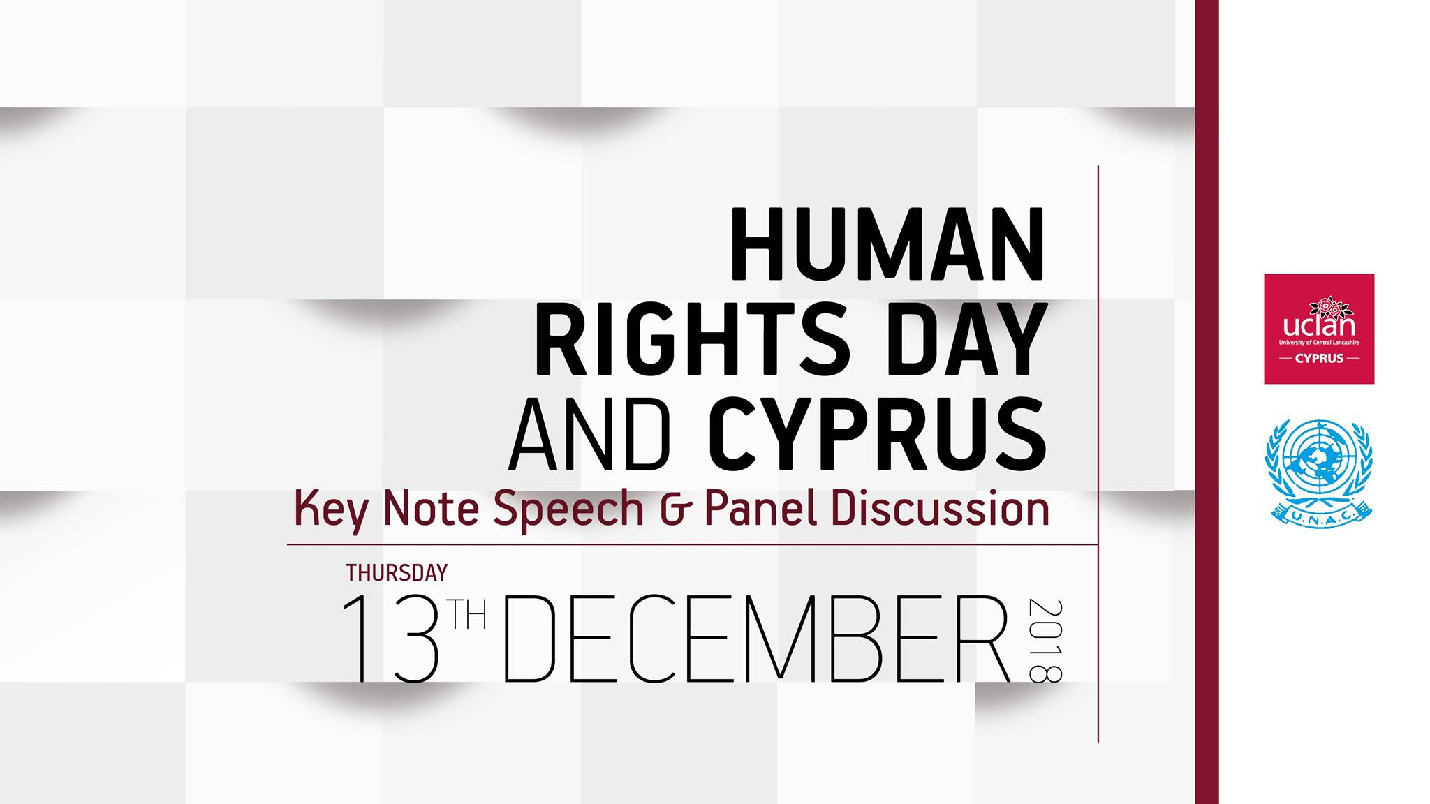 Key Note Speech & Panel Discussion: Human Rights Day and